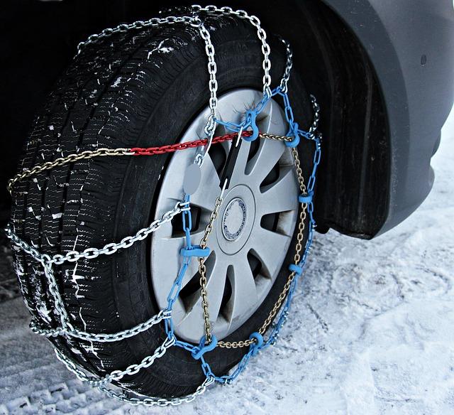 Gdzie kupić łańcuchy śniegowe na koła